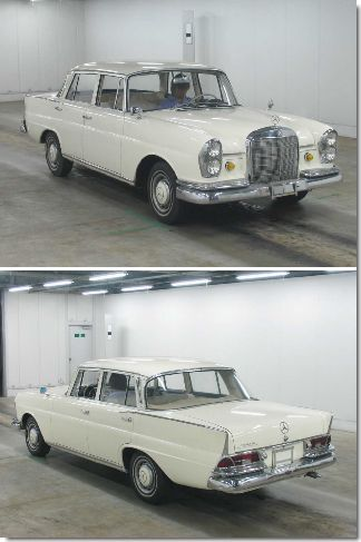 mercedes-230s-1967-japanese-car-auction-find